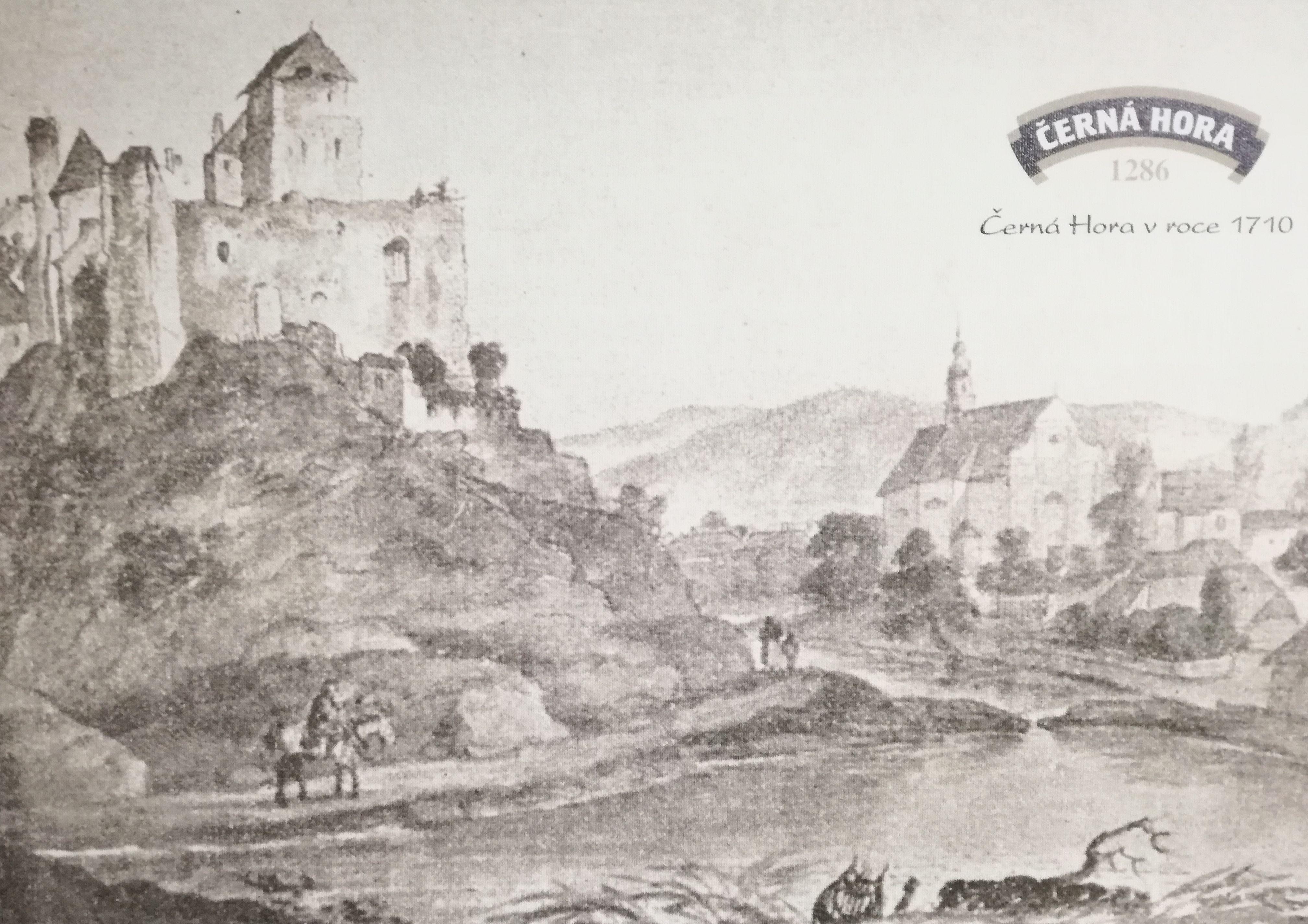 Černá Hora 1710-ben
