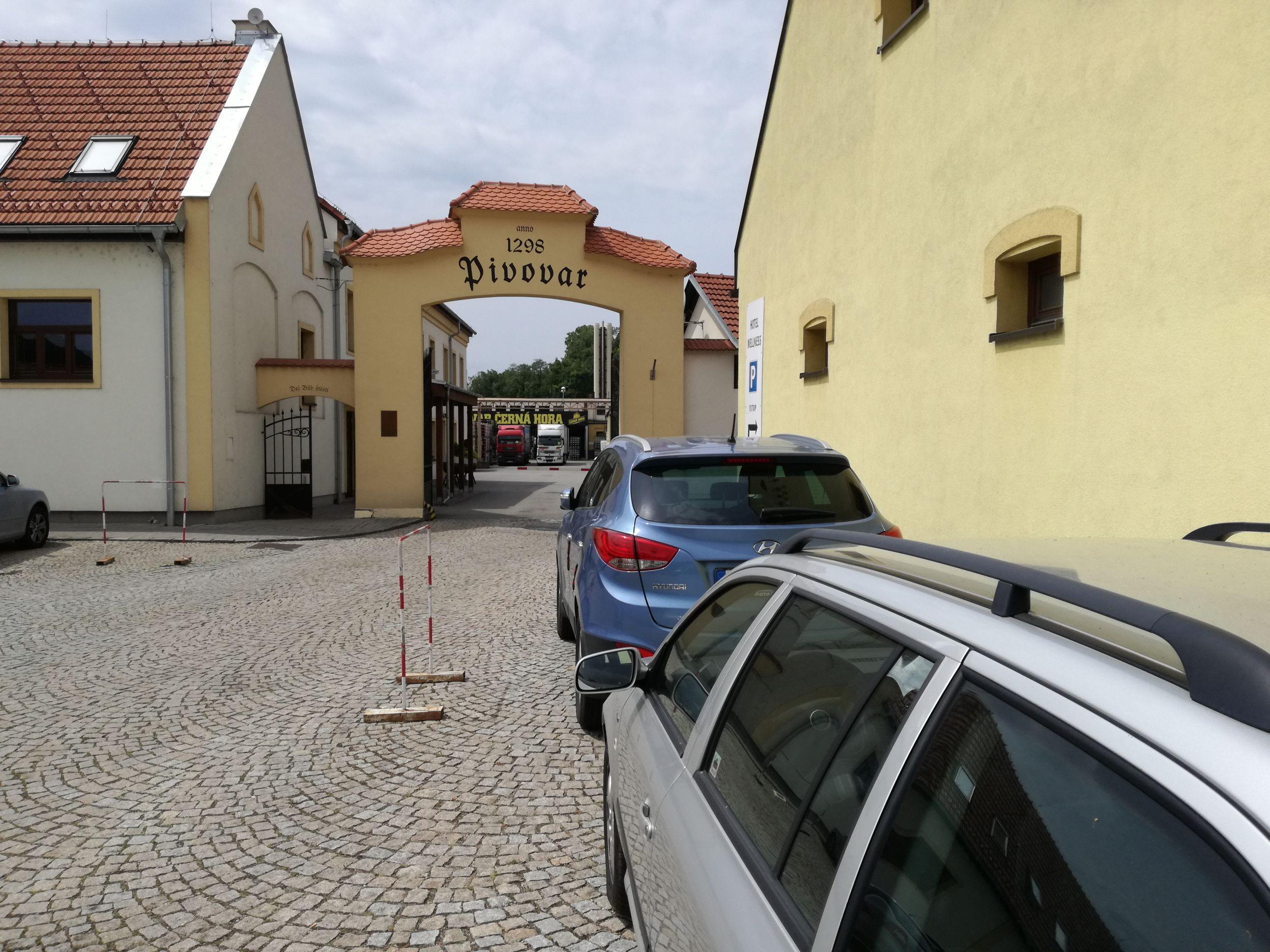A sörgyár kapuja