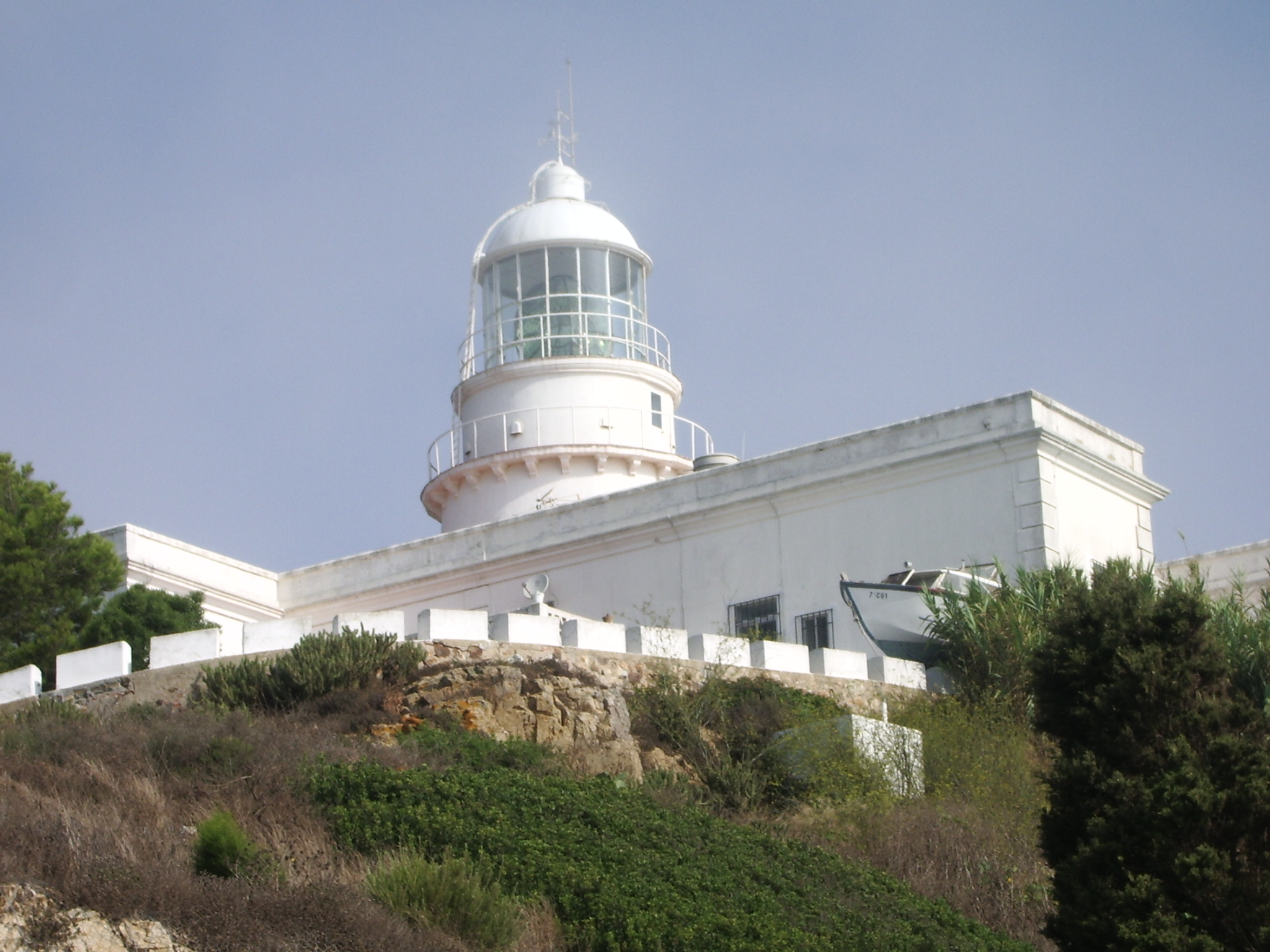 Punta Almina világítótorony (Forrás: www.wikipedia.hu)