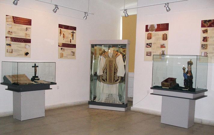 Egyháztörténeti kiállítás (Forrás: www.csszm.ro)
