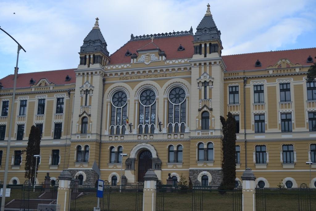 Márton Áron Főgimnázium (Forrás: www.wikipedia.org)