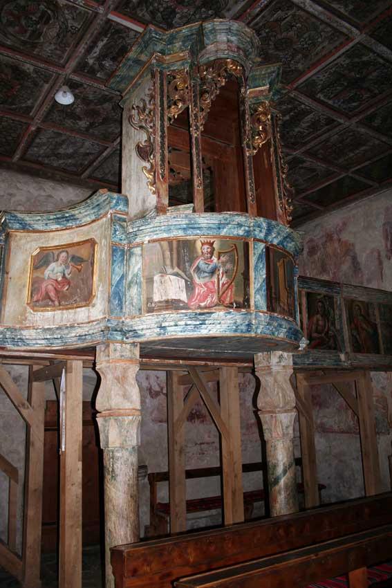 Templombelső (Forrás: www.erdely-szep.hu)