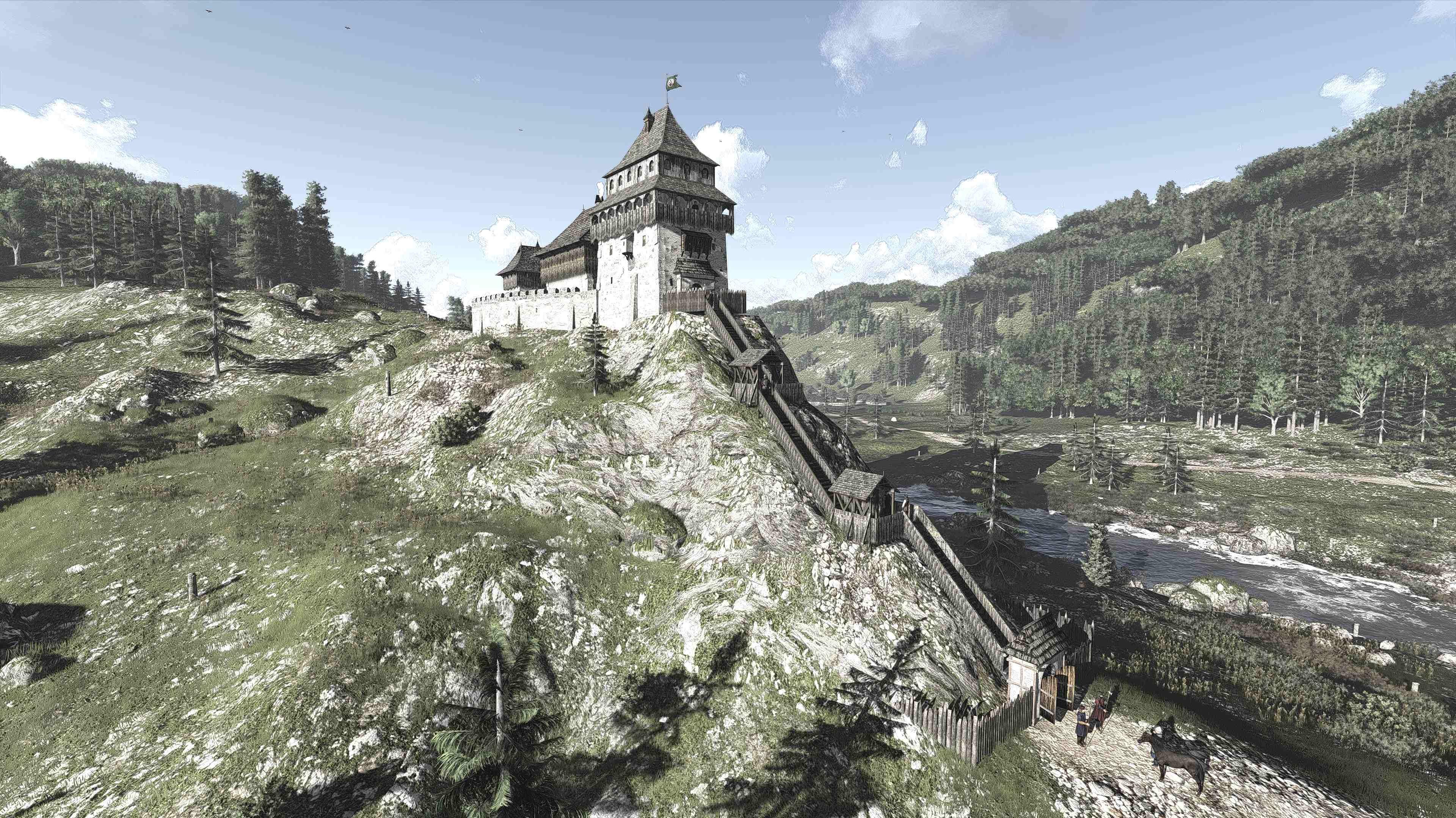 11_ A vár rekonstrukciója (Forrás: www.youtube.com)