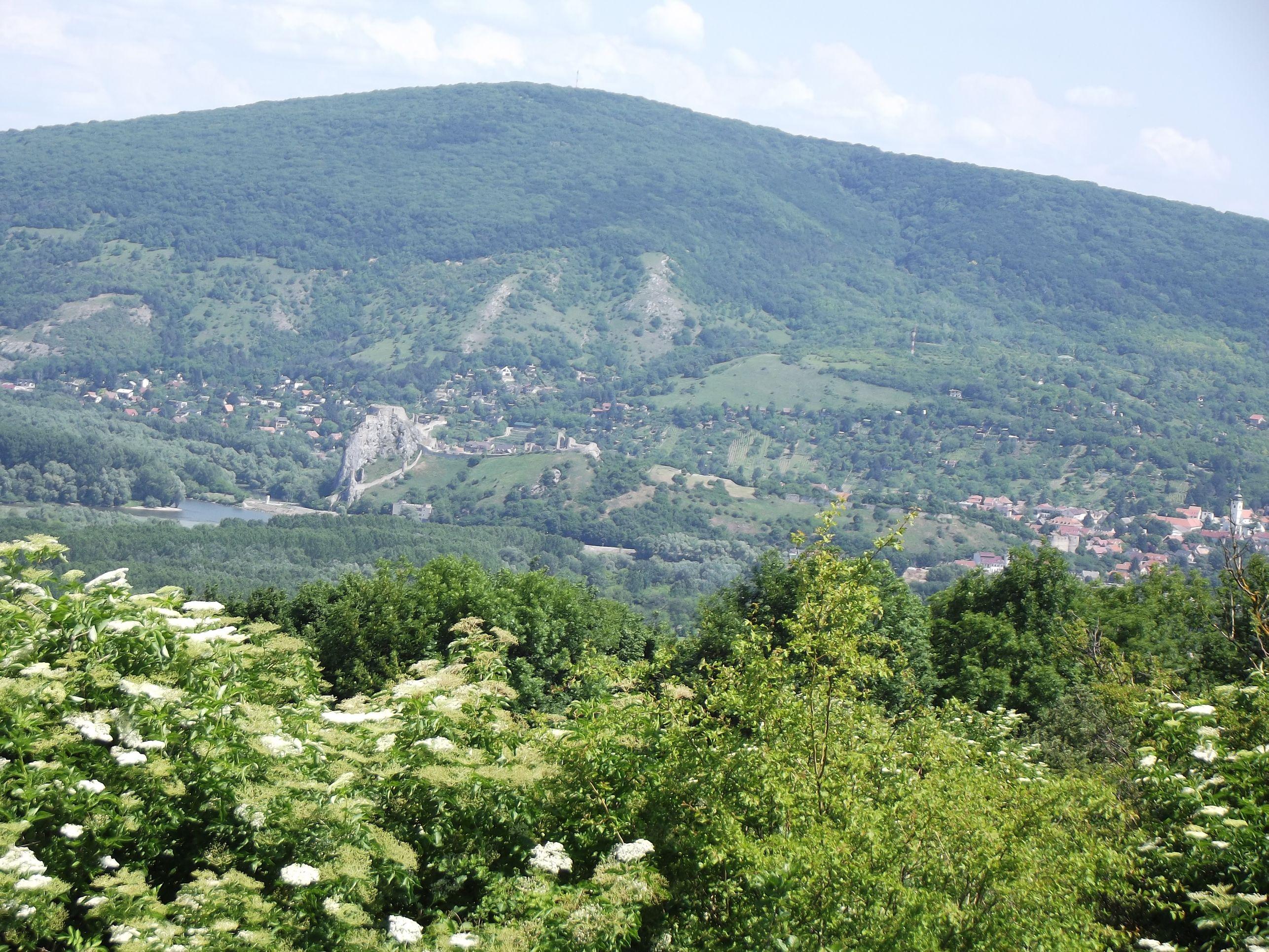 Dévény a Braunsbergről