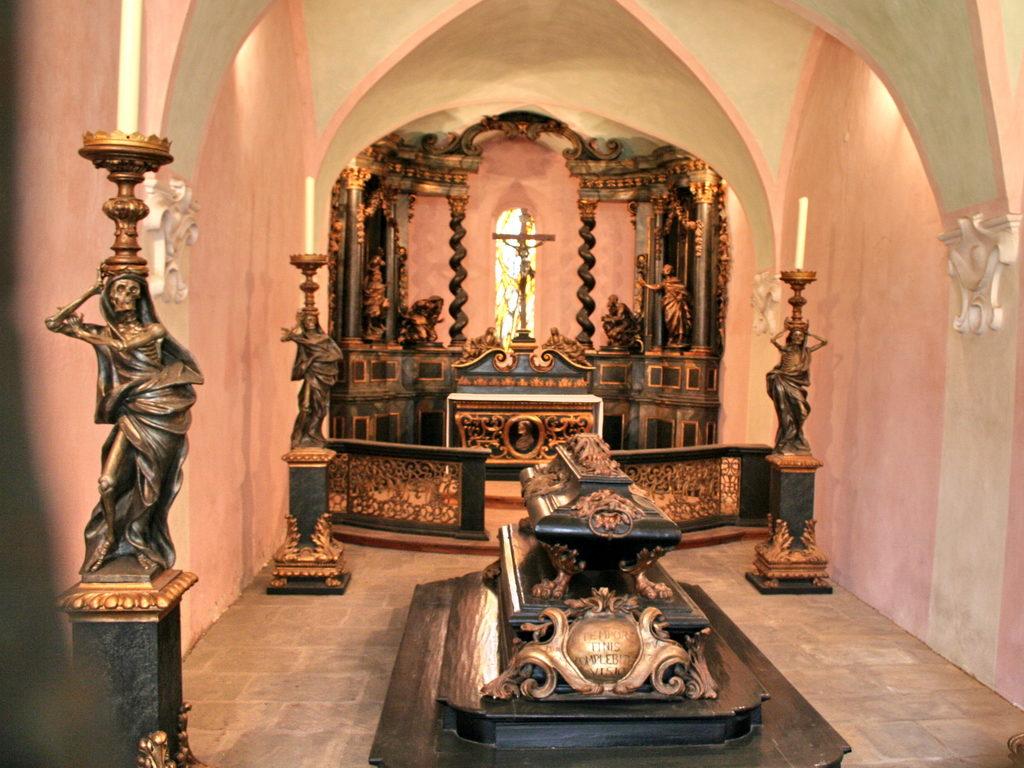 A Ravatalozó kápolna (Forrás: www.stift-heiligenkreuz.org)