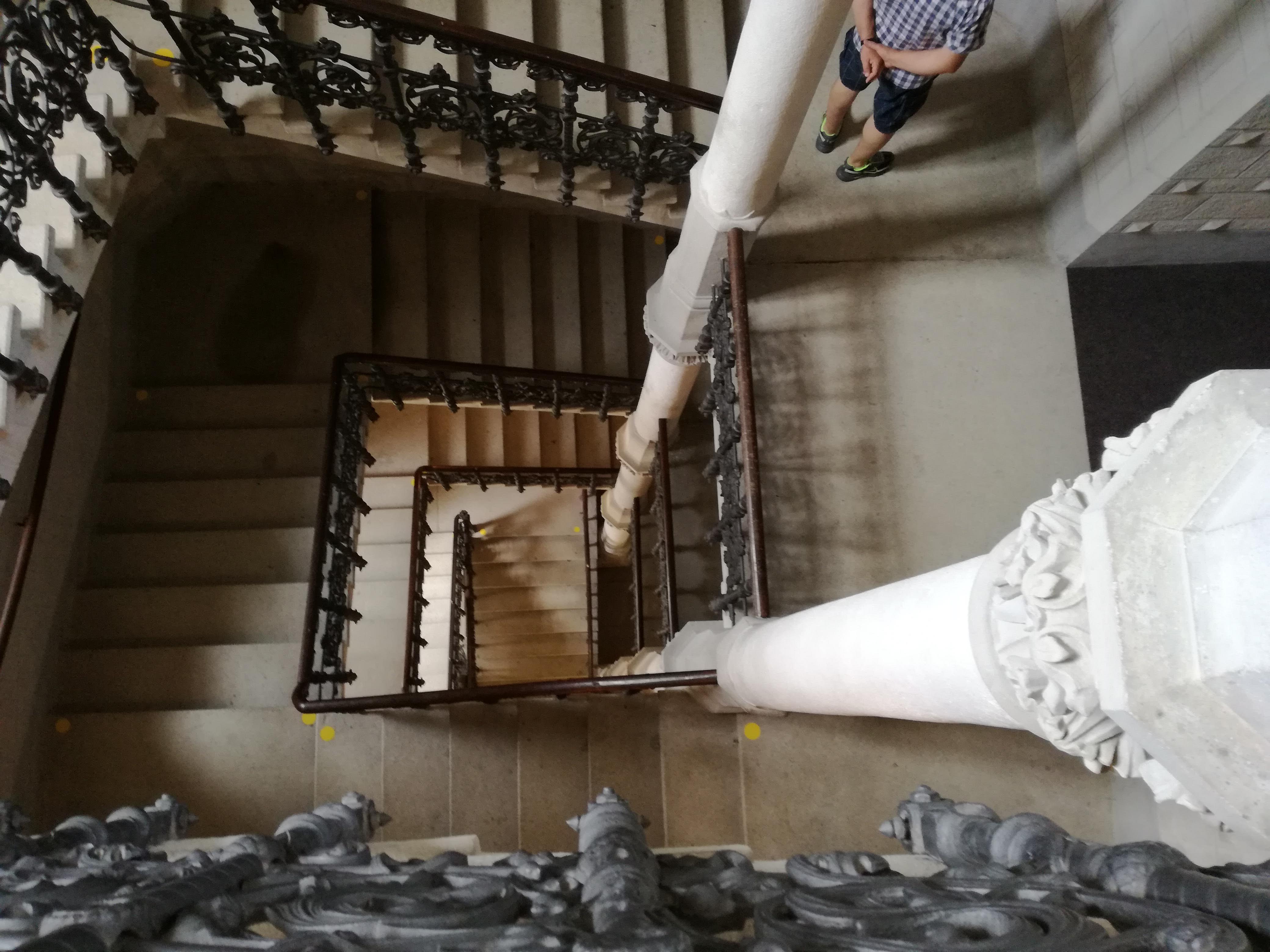 A torony lépcsőháza