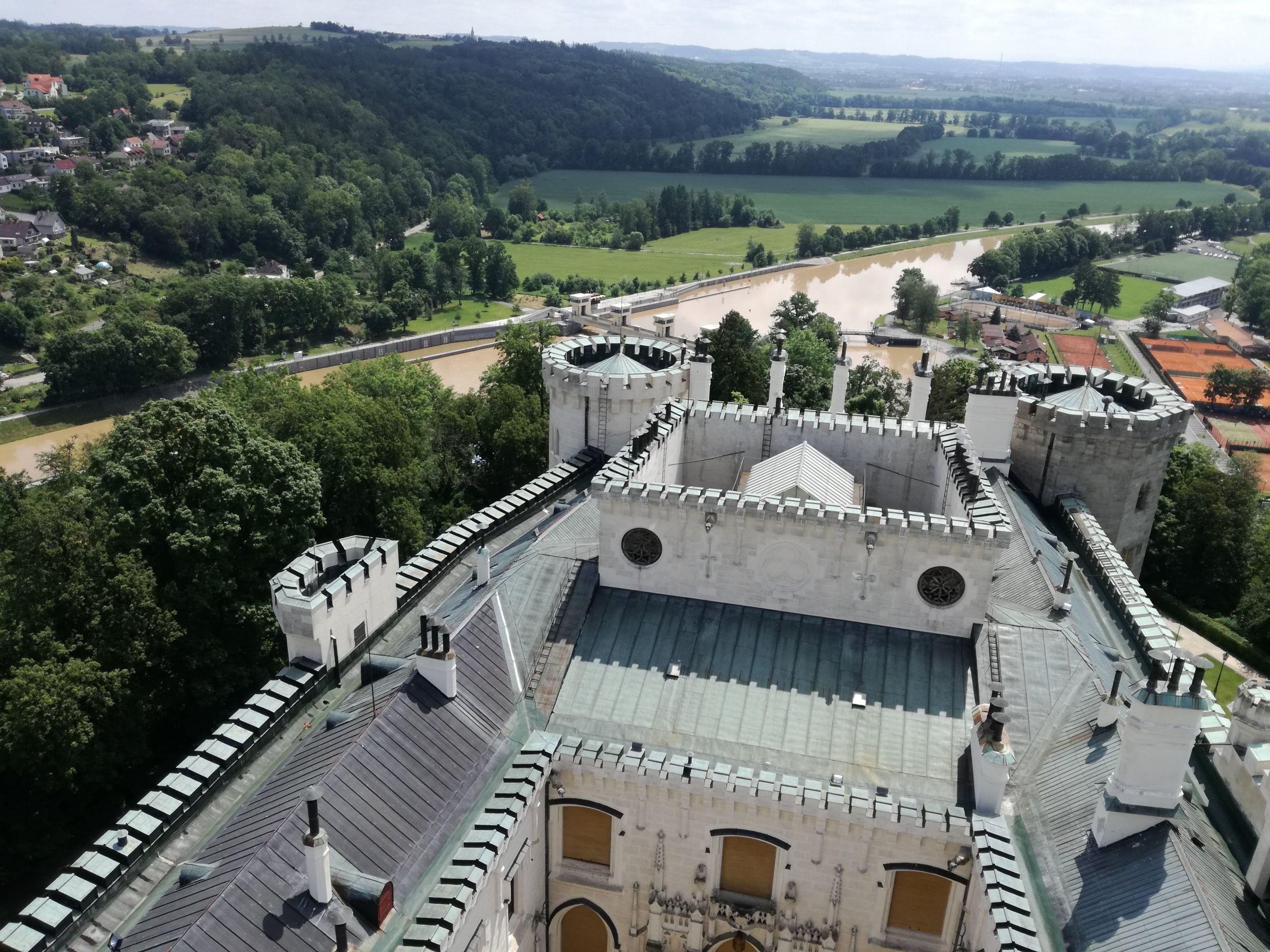 Kilátás a Moldvára
