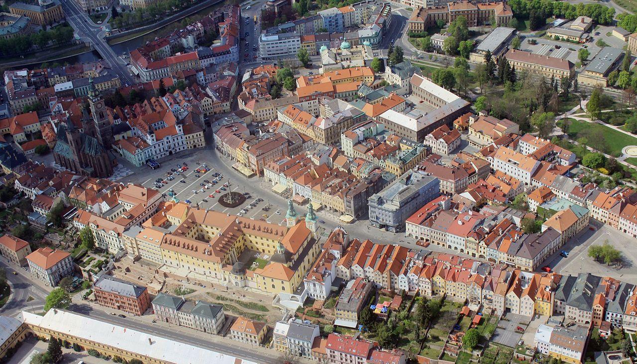A város madártávlatból (Forrás: www.wikipedia.org)