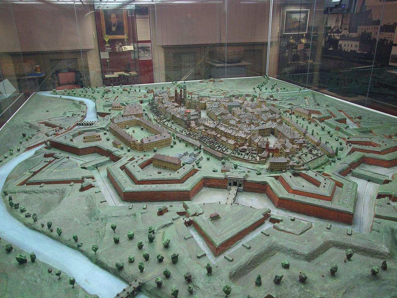 Az erődváros (Forrás: www.wikipedia.org)