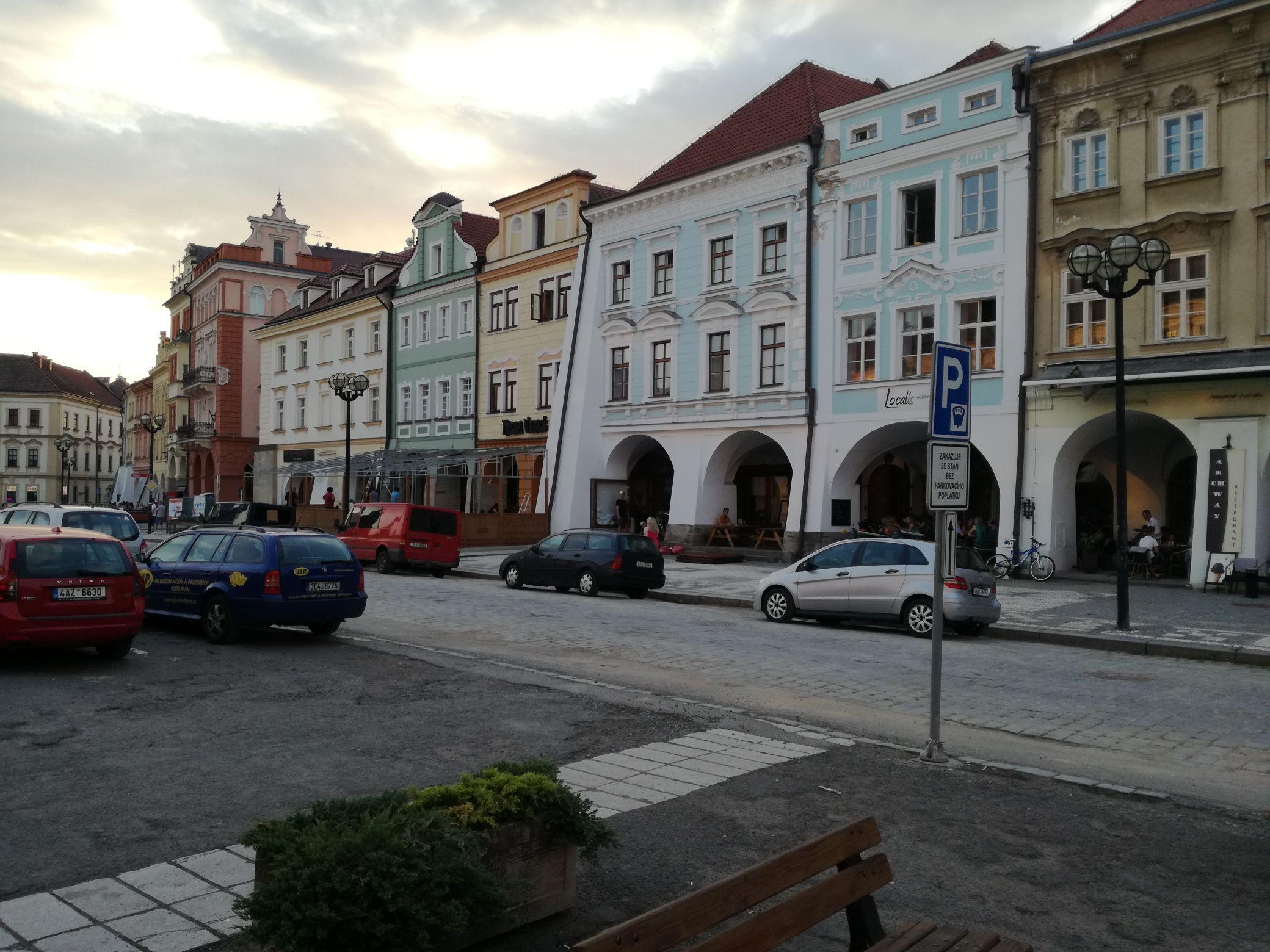 A főtér házai