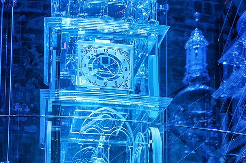 A harangtorony üveg modellje (Forrás: www.bilavez.cz)