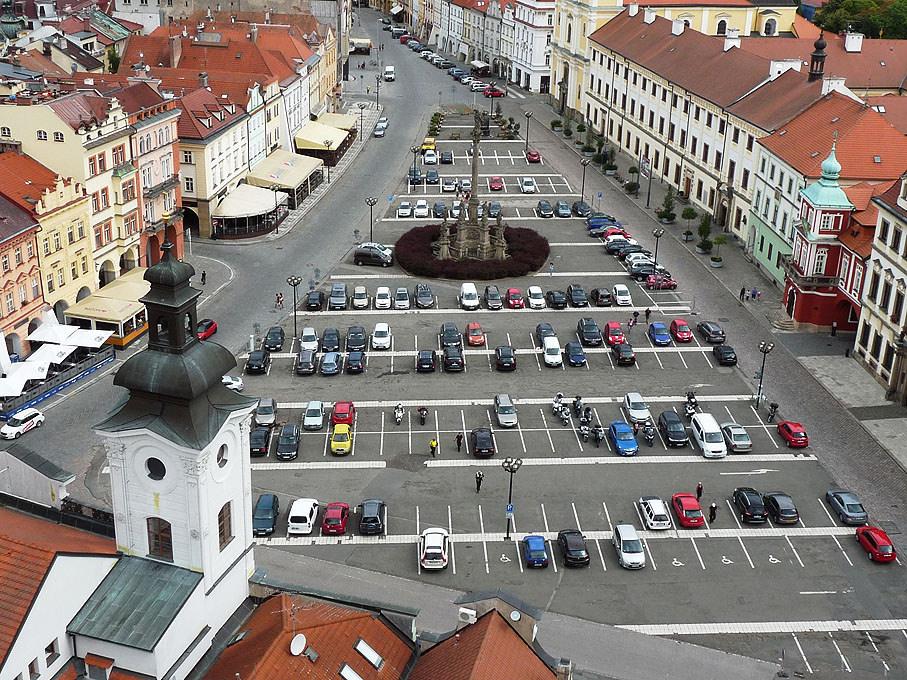 Kilátás a harangtoronyból (Forrás: www.cestomila.cz)