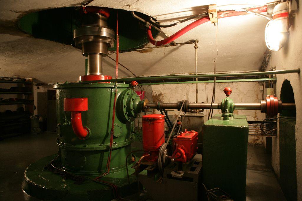 Az egykori vízerőmű (Forrás: www.cez.cz)