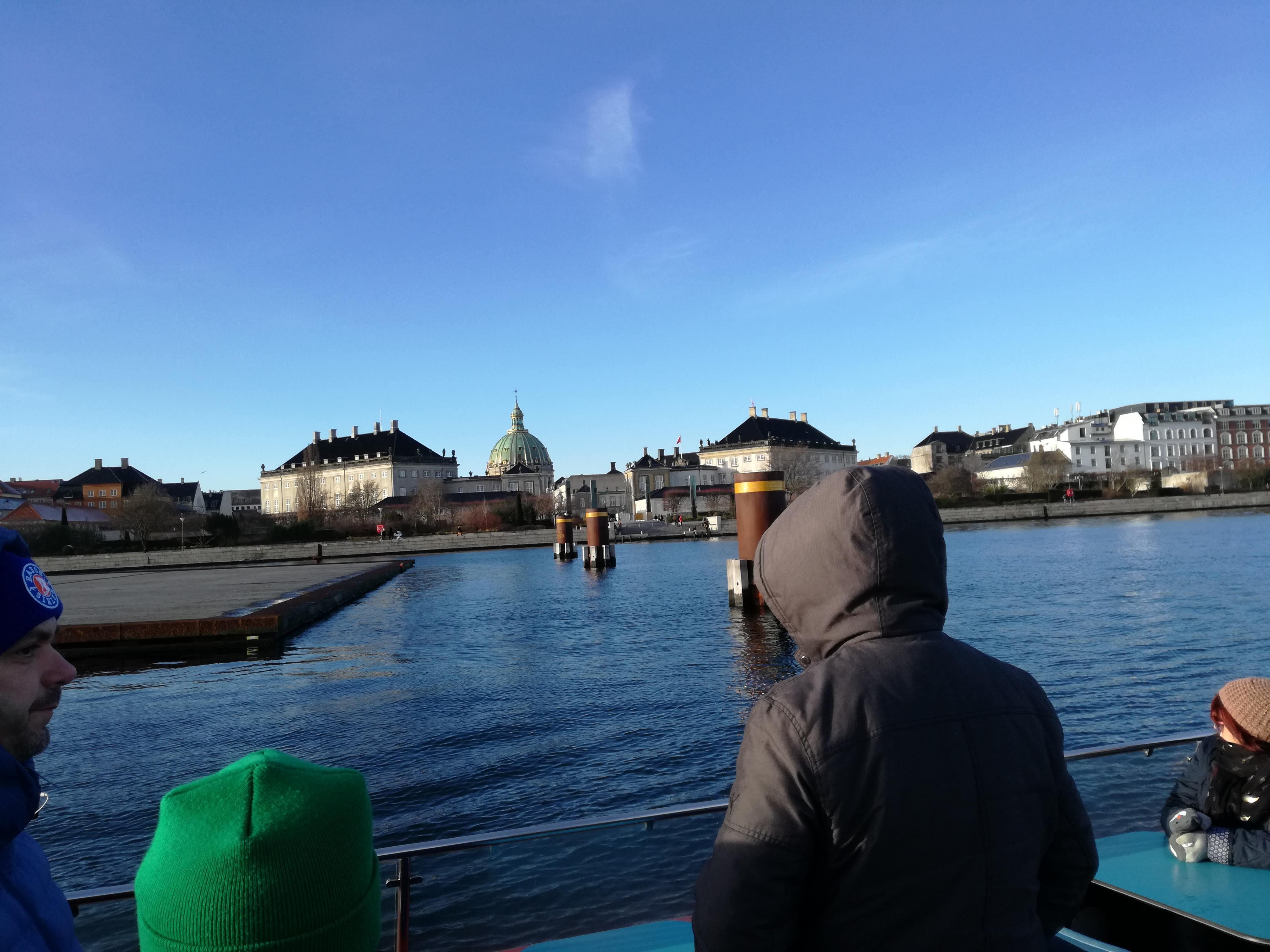 Amalienborg a víz felől