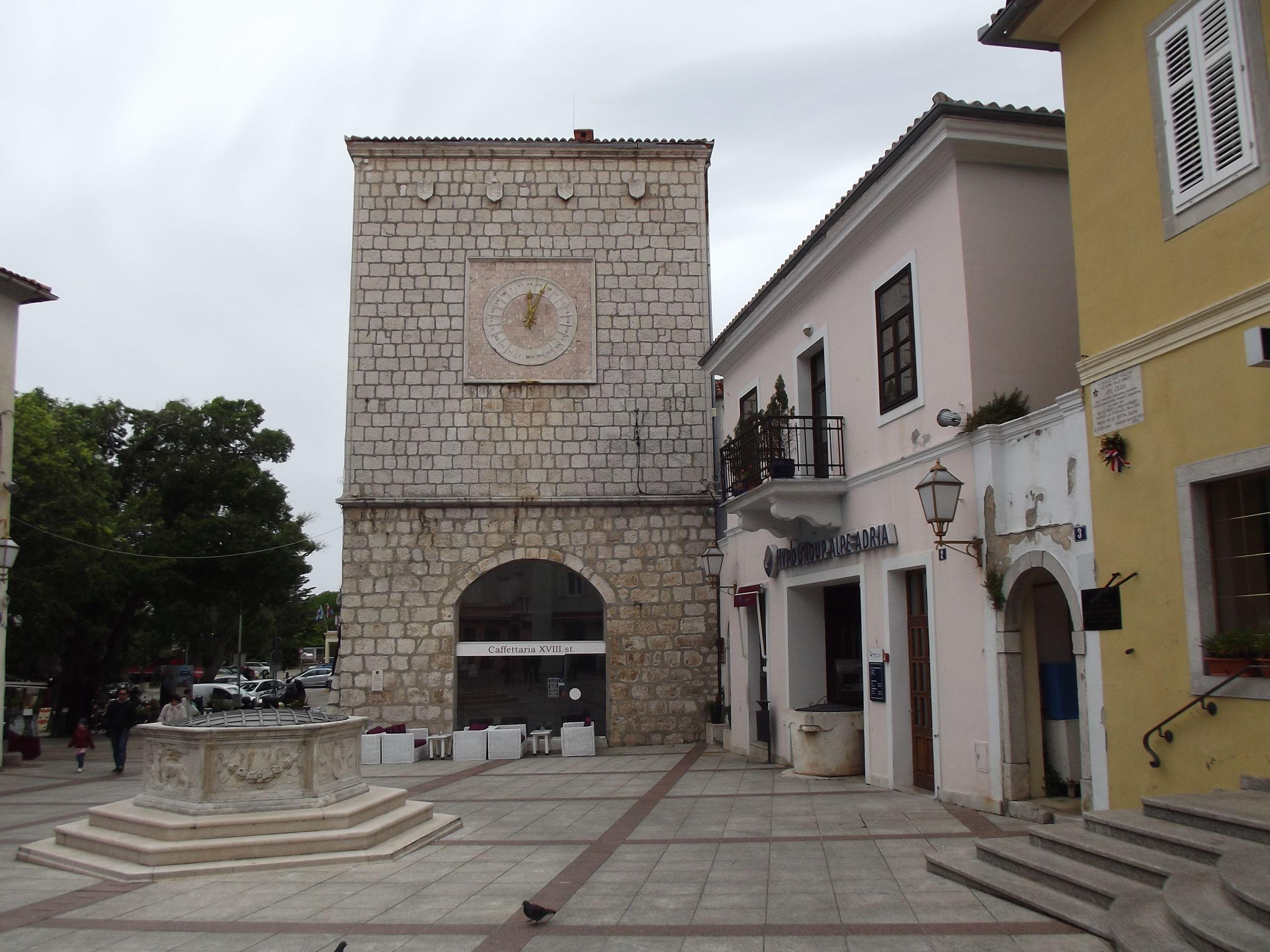 Városháza és szökőkút
