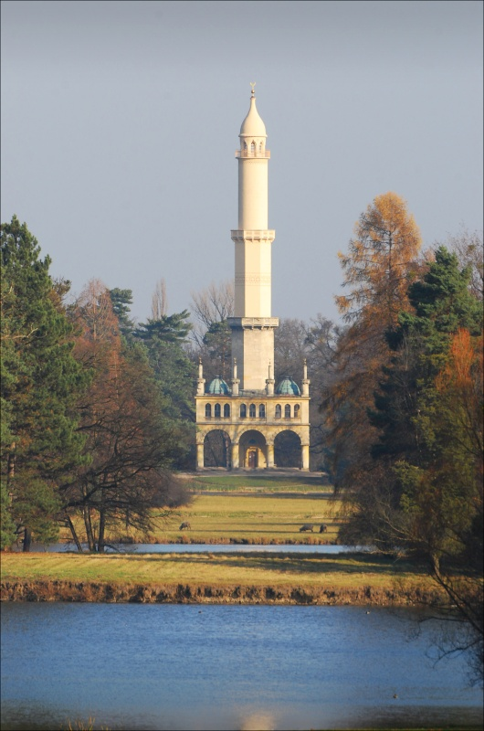 Minaret (Forrás: www.zamek-lednice.com)