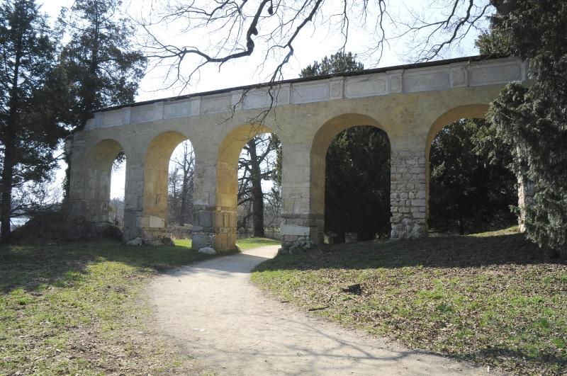 Római vízvezeték (Forrás: www.zamek-lednice.com)