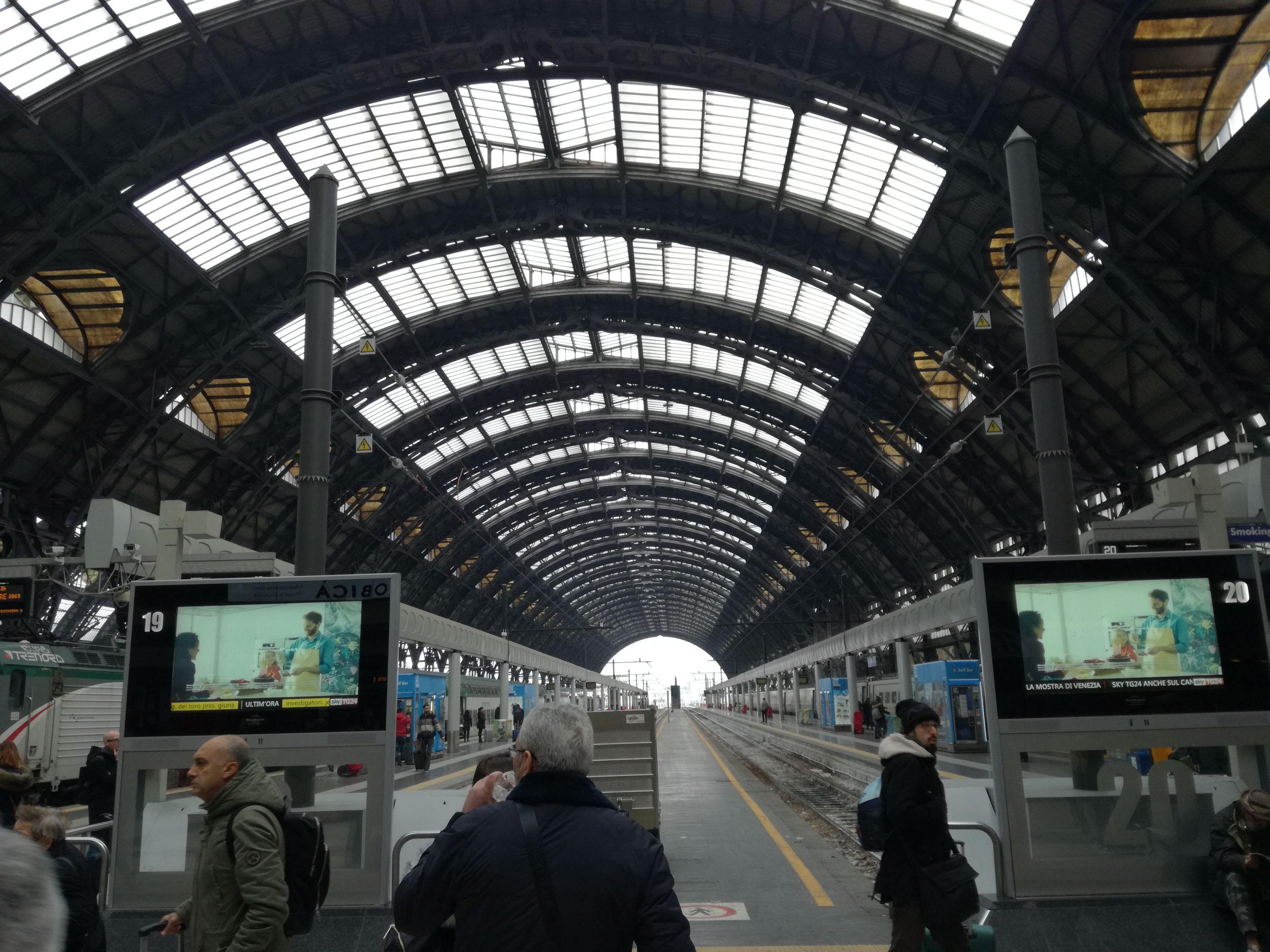 A Milánói Központi Pályaudvar