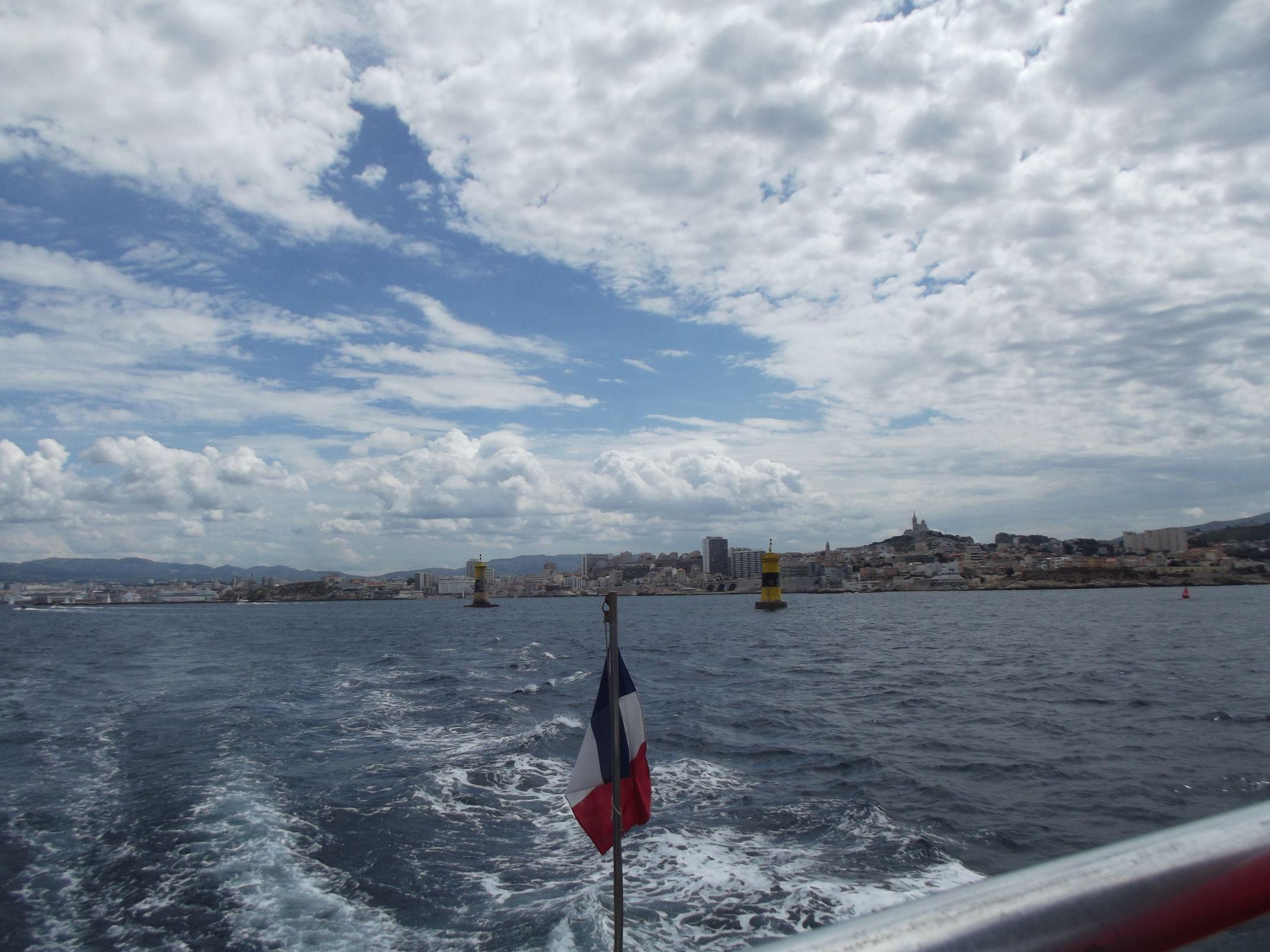 Marseille a tenger felől