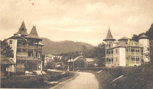 Az egyik villa régen... (Forrás: www.primariasovata.ro)