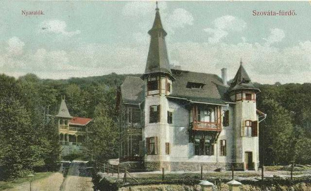 Nyaralók régen (Forrás: www.primariasovata.ro)