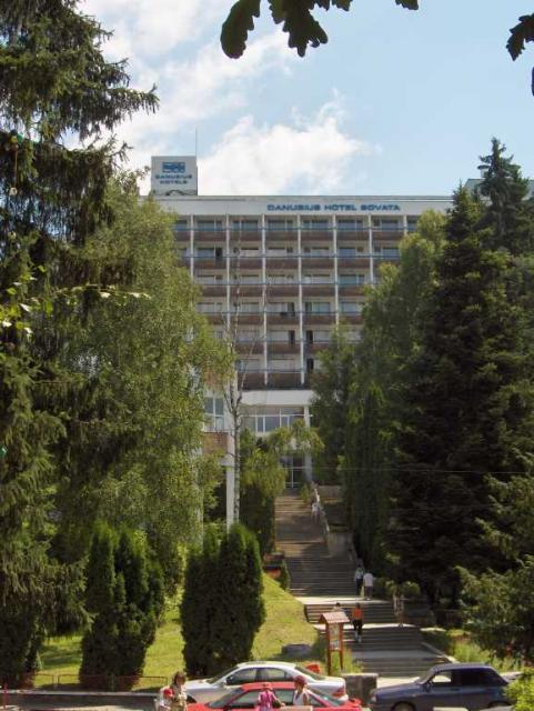 Danubius Hotel Szováta (Forrás: www.primariasovata.ro)