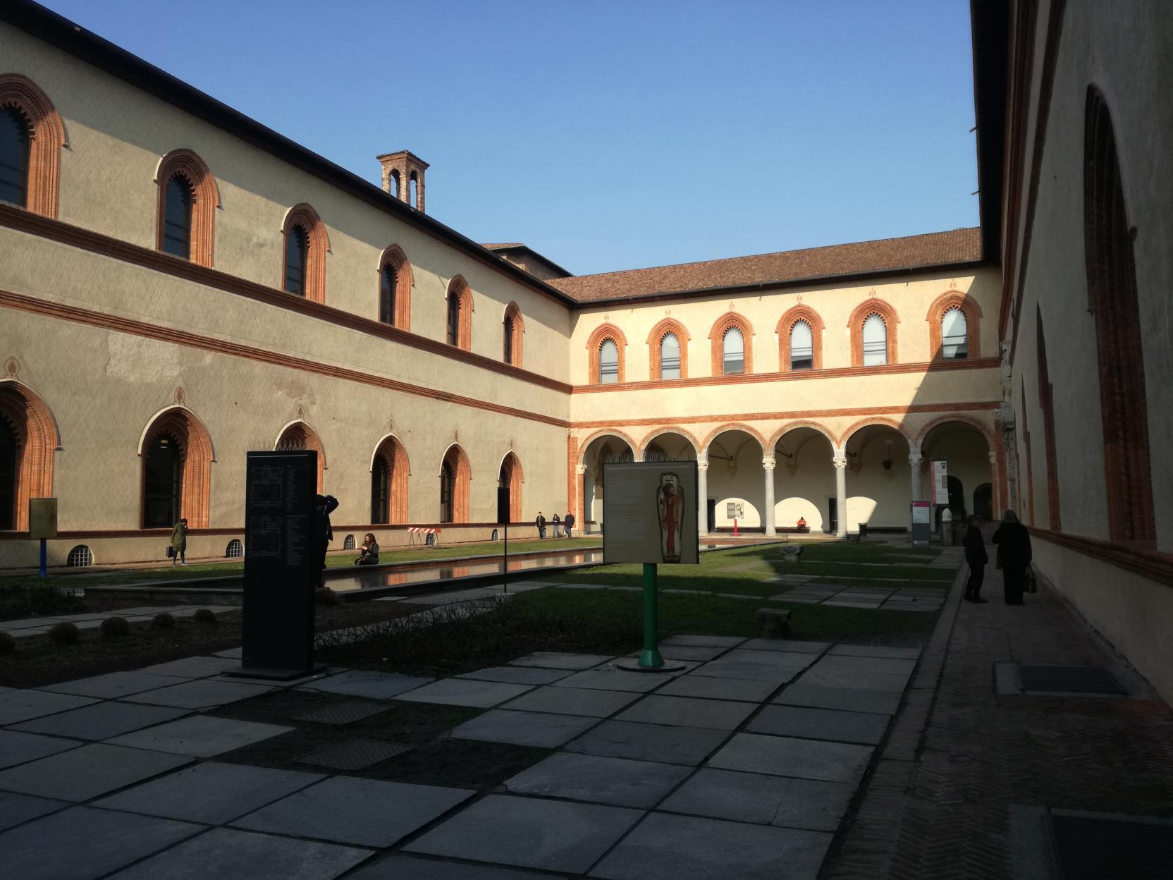 Sforza Kastély - Corte Ducale