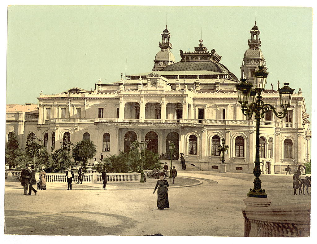 A kaszinó 1879-ben (Forrás: www.wikipedia.com)