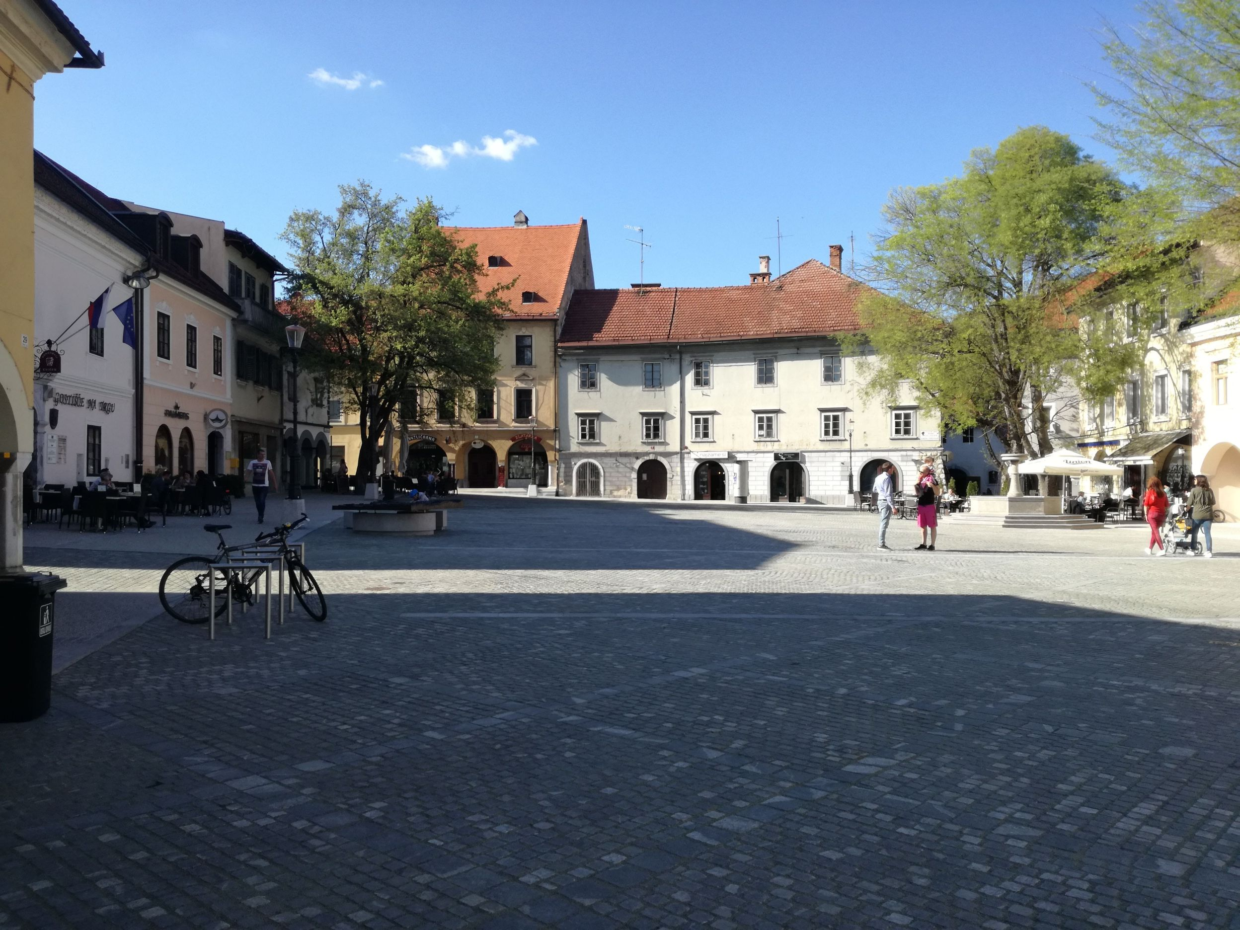 A Glavni tér