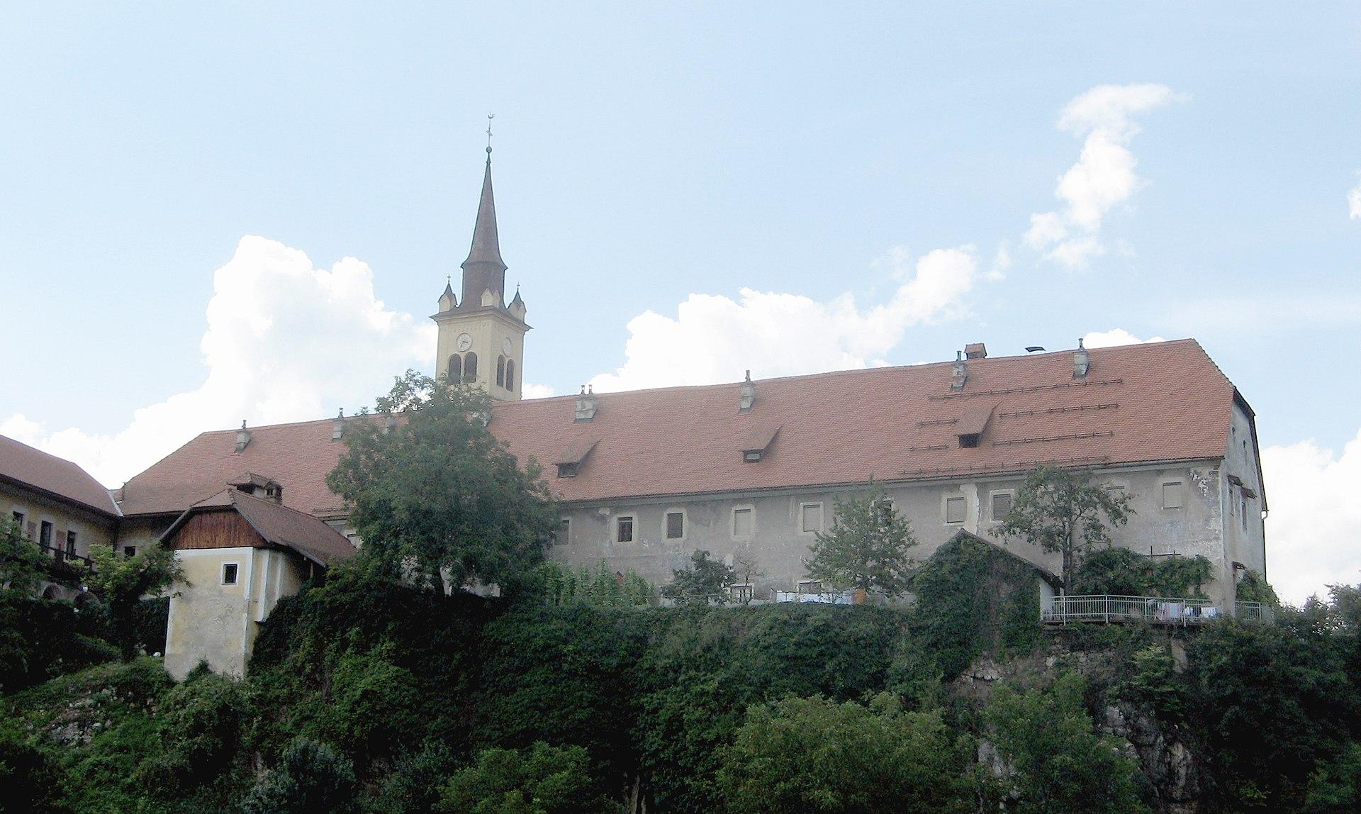 Ferences kolostor (Forrás: Andrej Jakobčič, www.wikipedia.com)