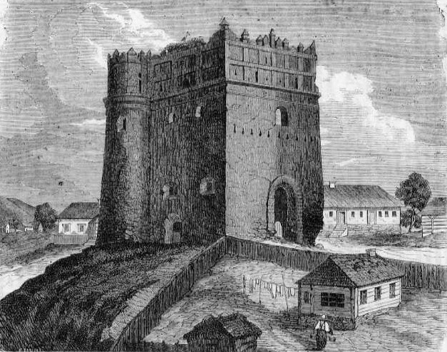 A Lutszk kapu régen (Forrás: www.wikipedia.com)