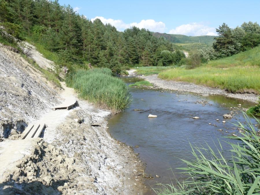 A Korond-patak a Sószorosban