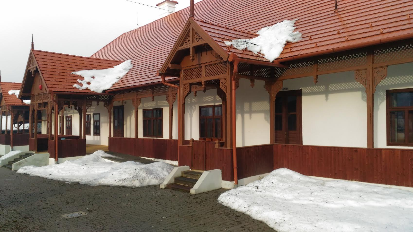 Az egykori Sóhivatal épülete (Forrás: Parajd Önkormányzata)