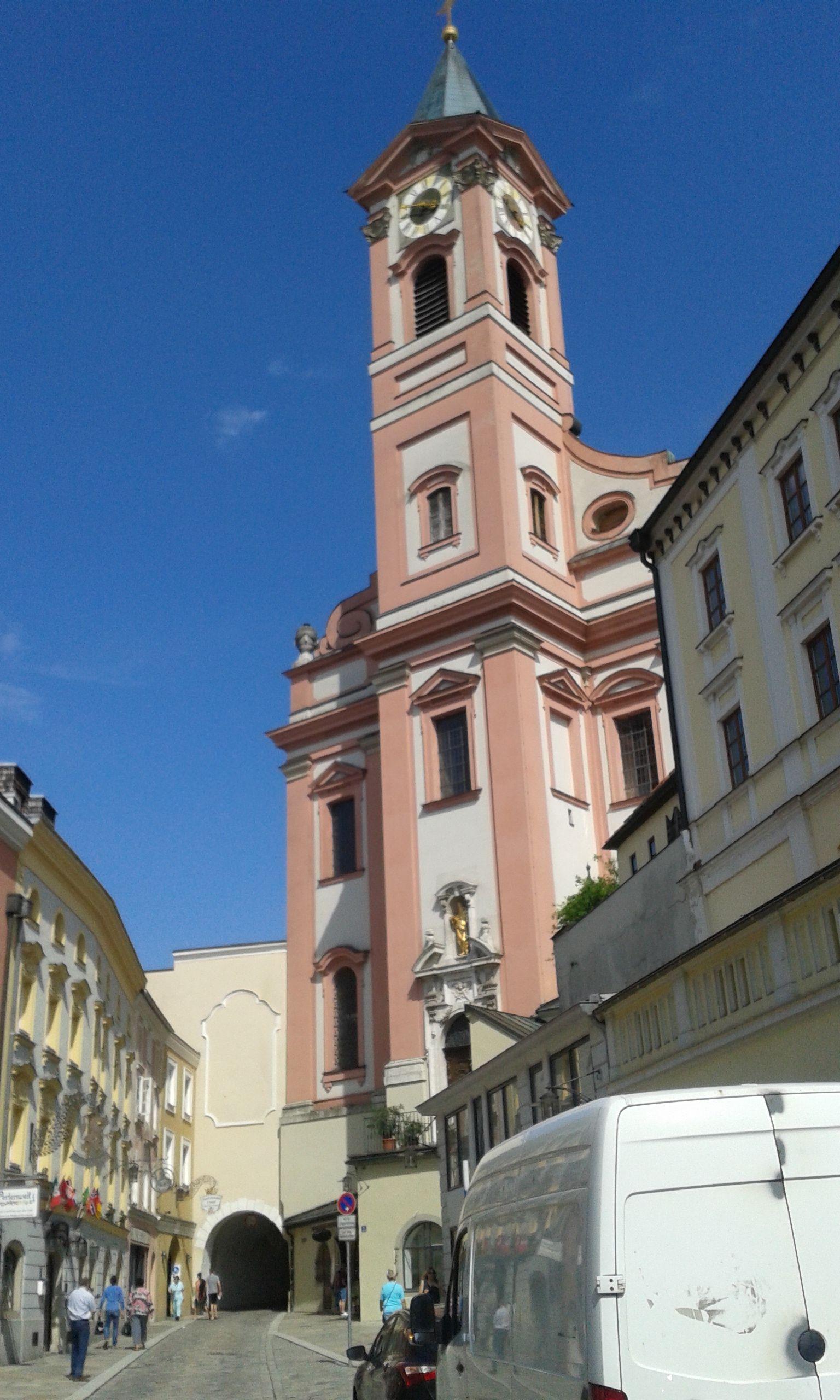 Paulus kapu és a Szent Pál templom