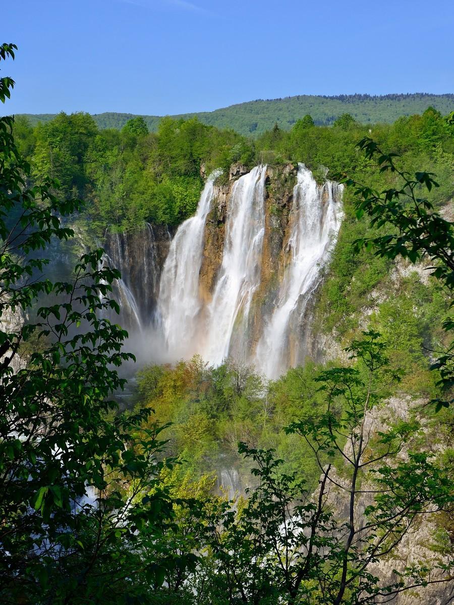 A Nagy vízesés (Forrás: www.np-plitvicka-jezera.hr)