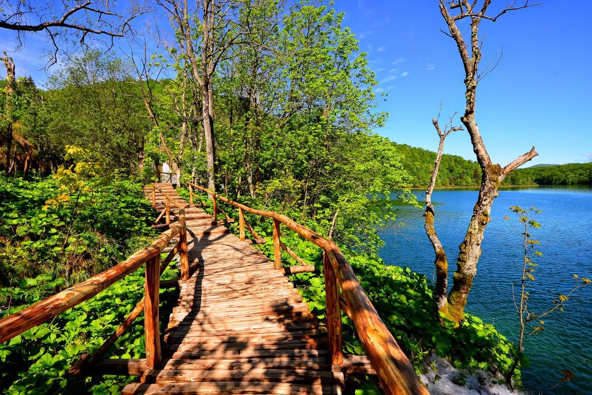 Tavasszal (Forrás: www.np-plitvicka-jezera.hr)