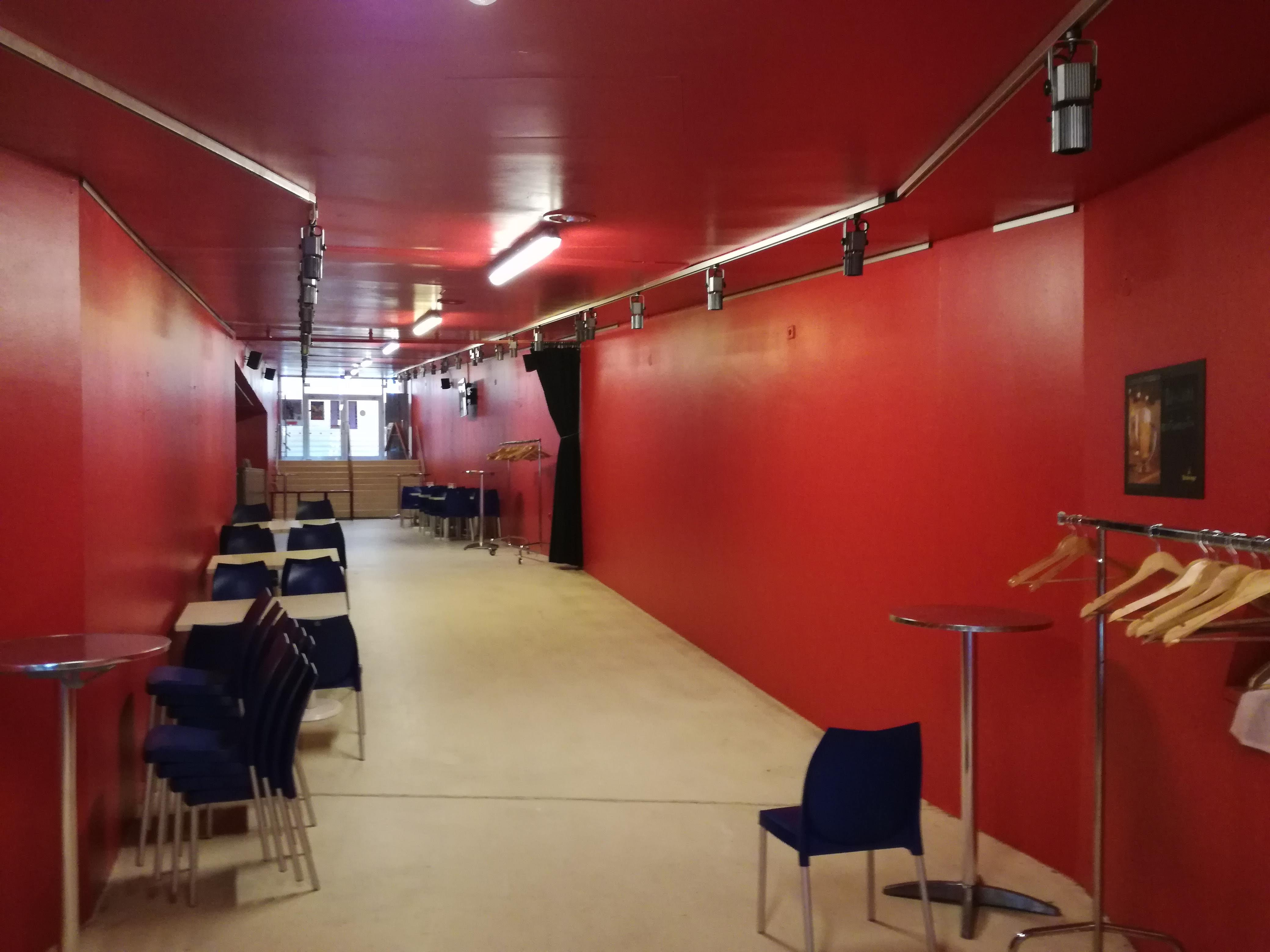 A koncertterem előtere