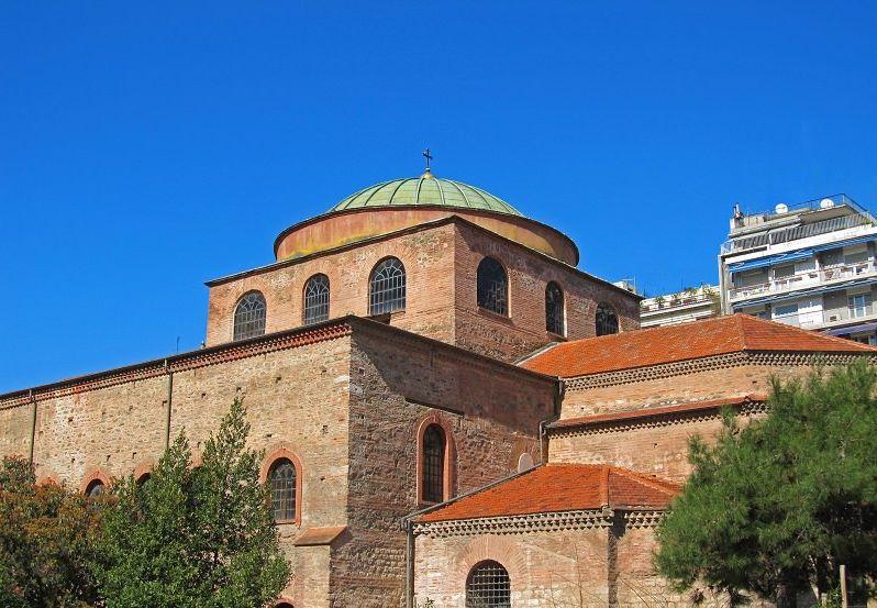 Szent Szófia templom (Forrás: www.inthessaloniki.com)