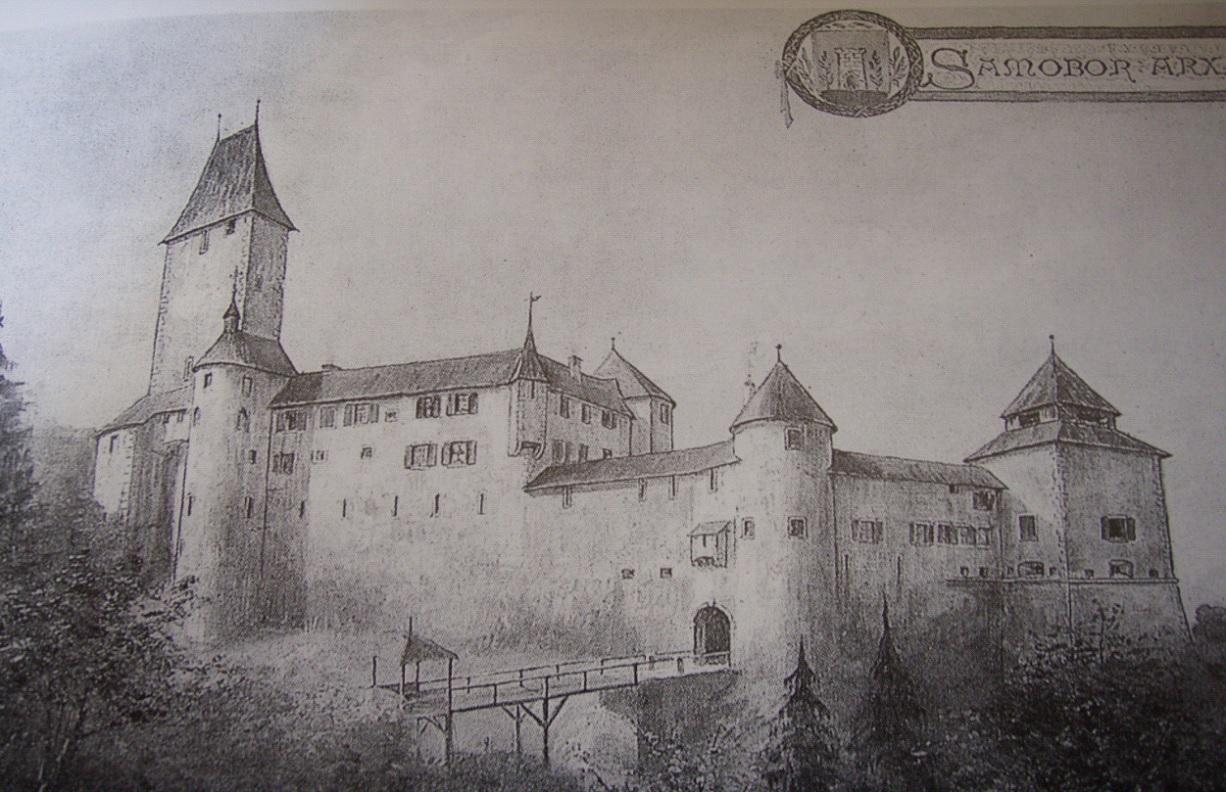 A vár ilyen lehetett régen (Forrás: www.darkoantolkovic.wordpress.com)
