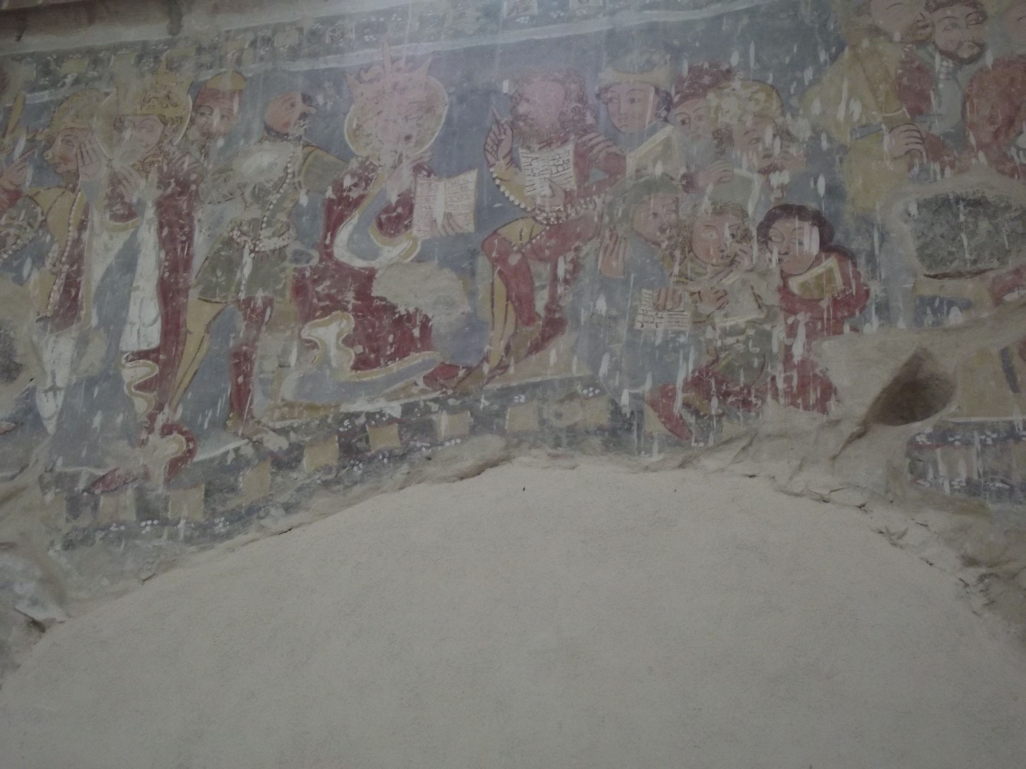 Homoróddaróc, Szent Katalin freskók