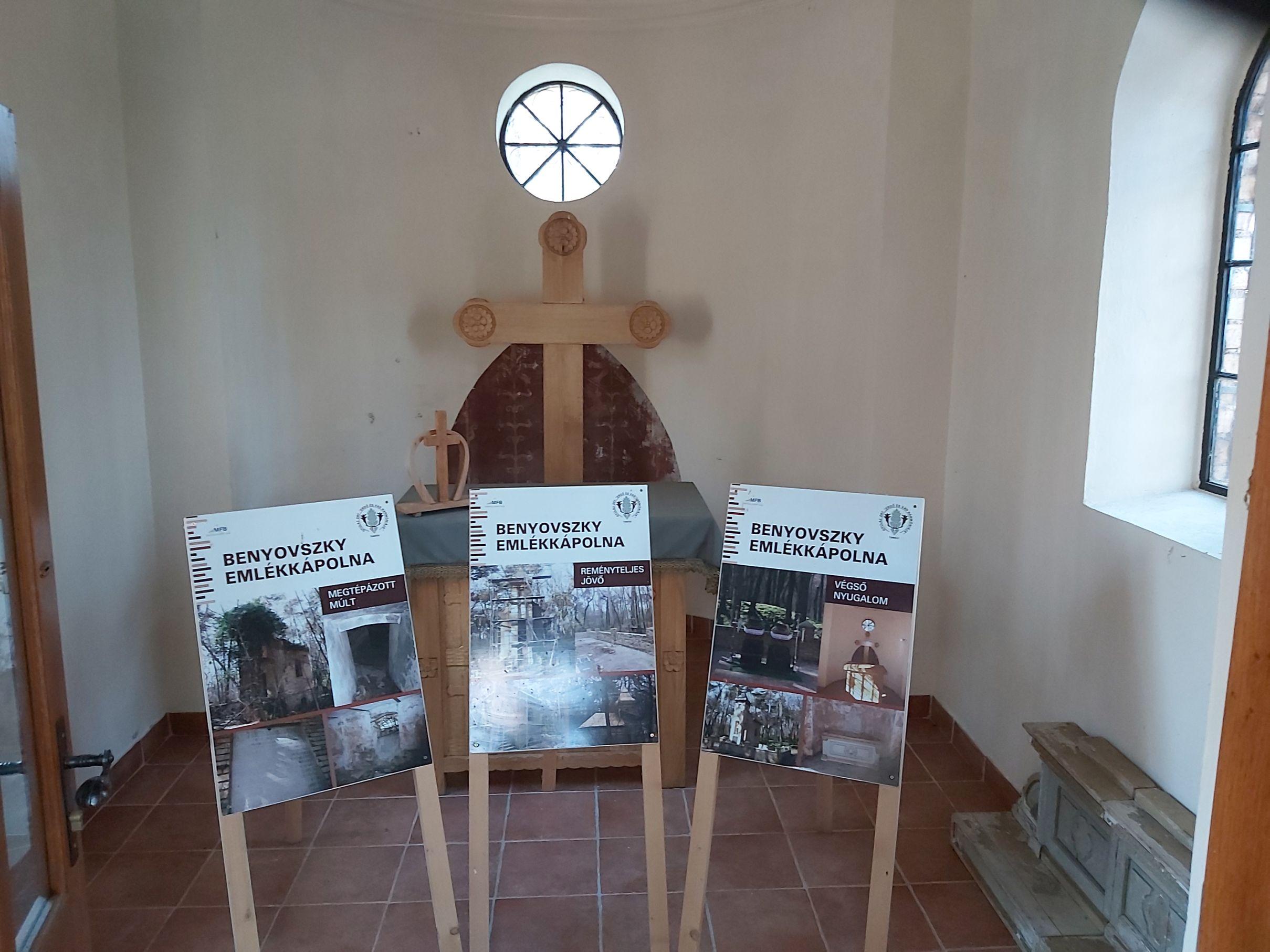Benyovszky kápolna, Tengelic