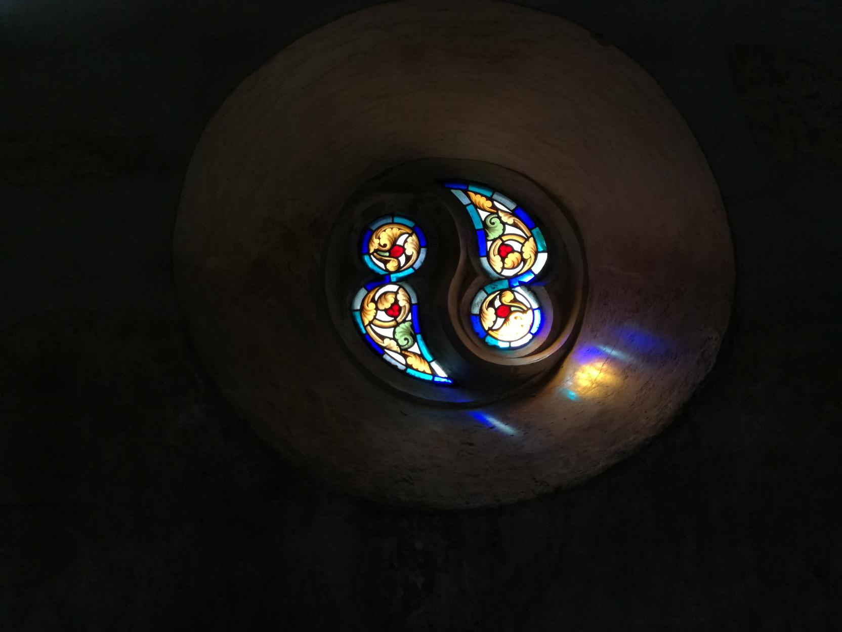 A kápolna ablaka