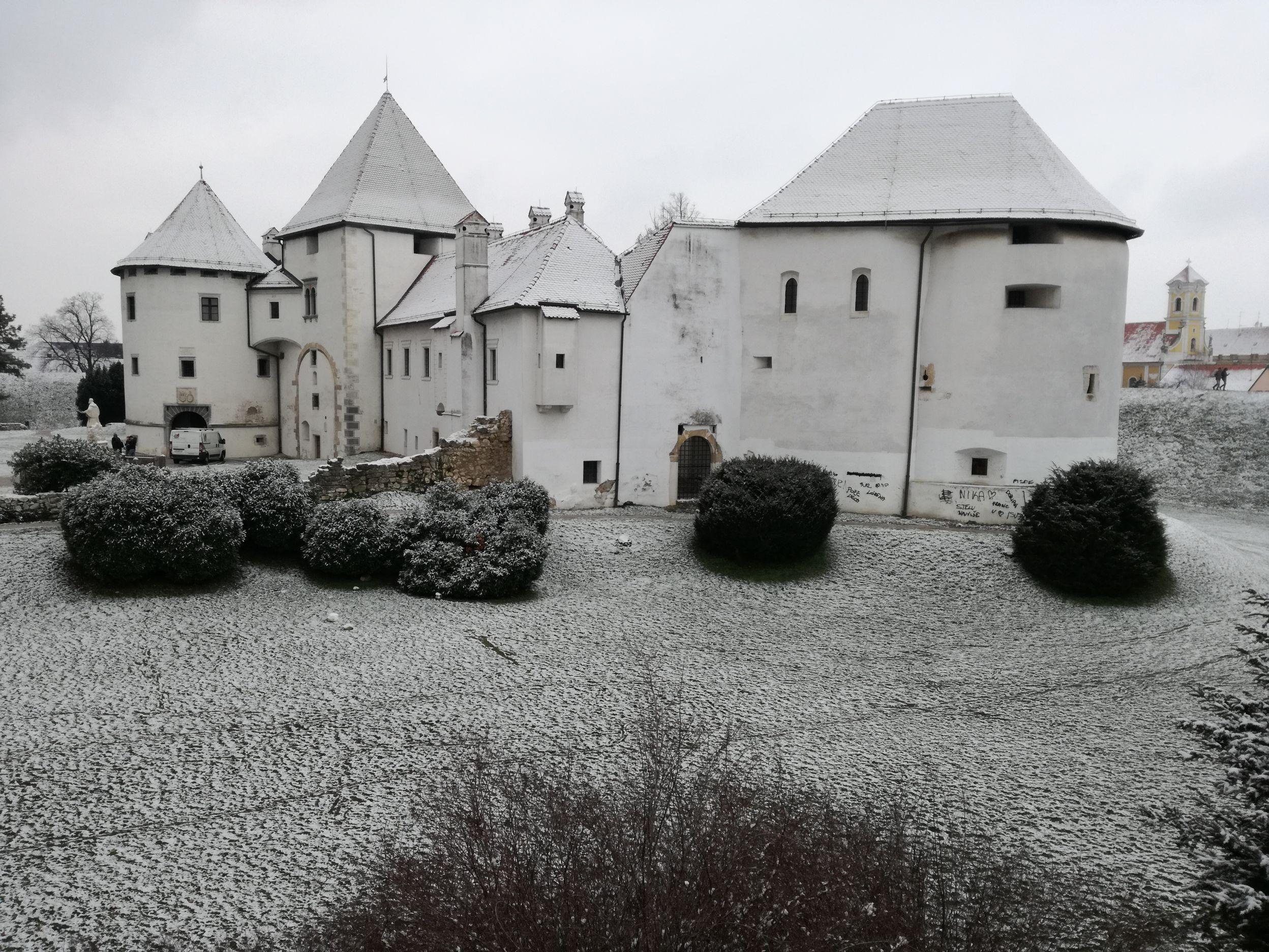 A vár télen
