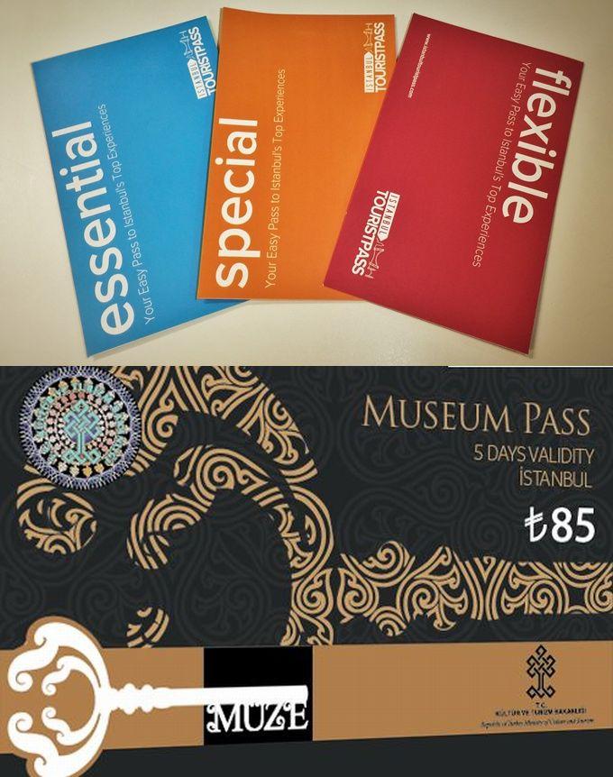 Istanbul Tourist Pass és Istanbul Museum Pass