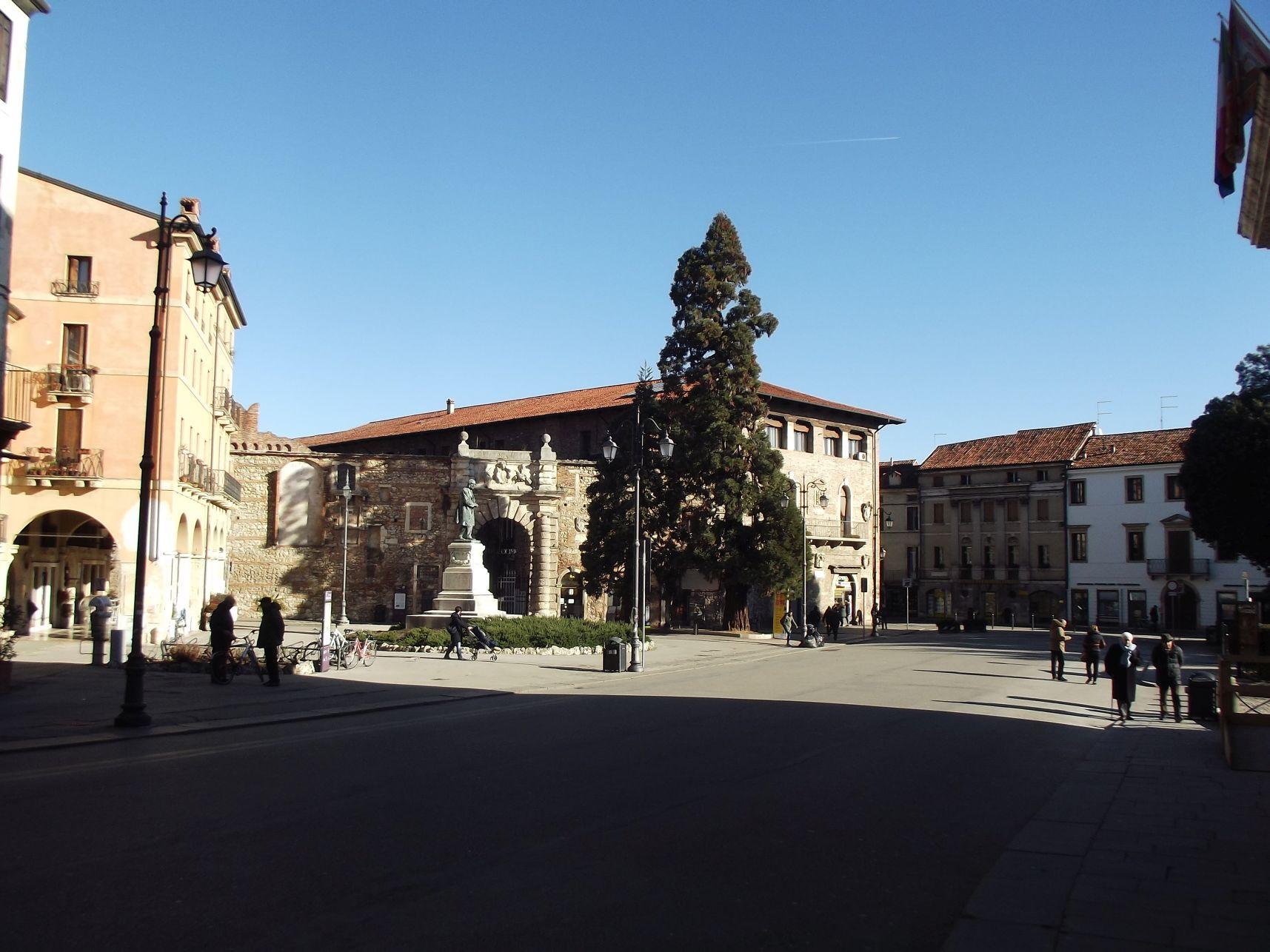 A Teatro Olimpico bejárata