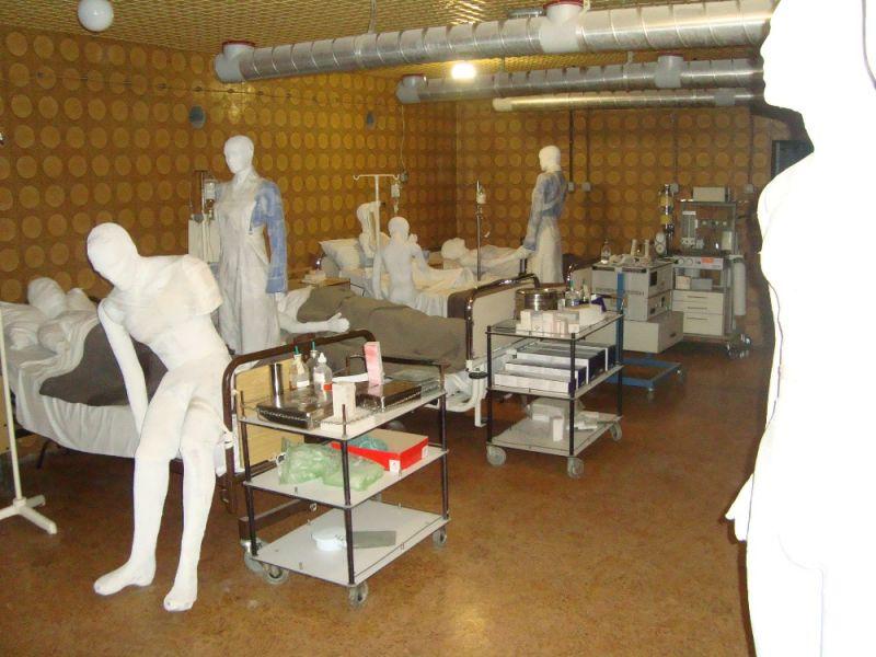 Kórházi kiállítás (Forrás: www.turizamvukovar.hr)