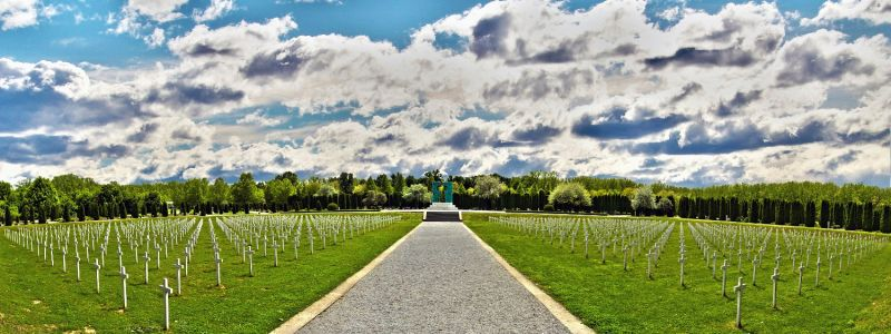 Katonai temető (Forrás: www.turizamvukovar.hr)
