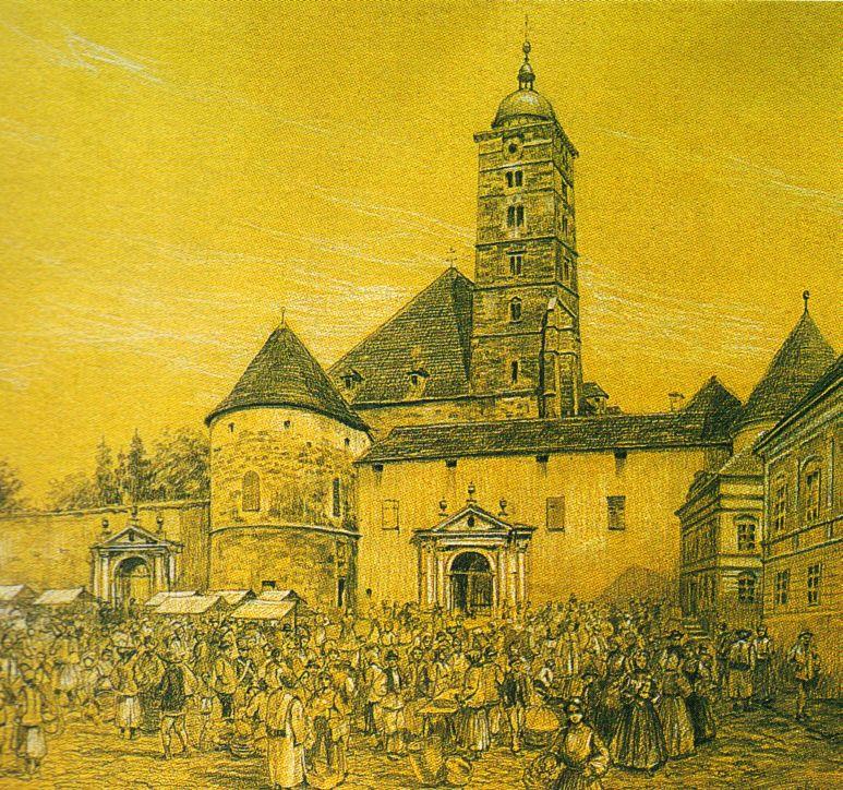 A dóm 1880 előtt (Forrás: www.wikipedia.com)