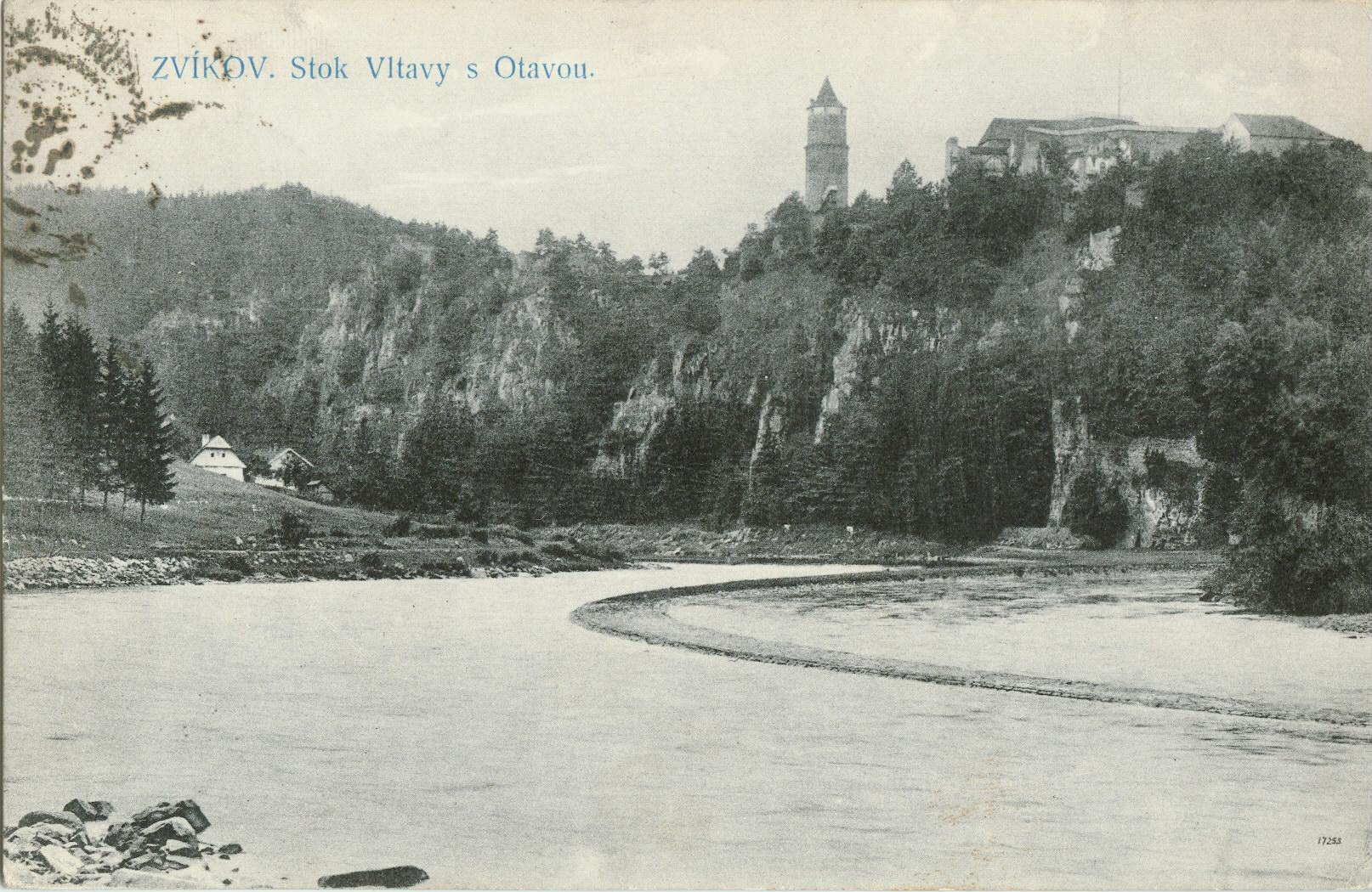 A duzzasztás előtt (Forrás: www.hrad-zvikov.eu)