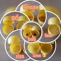 Hallásfejlesztő játék kinder tojás belsőből